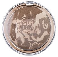 "Пудра для лица ""Sun Lover Glow"" тон: 010, sun-kissed bronze"