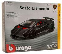 """Модель машины """"Bburago. Kit. Lamborghini Sesto Elemento"""" (масштаб: 1/24)"""