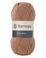 "Пряжа ""KARTOPU. Elite Wool №K885"" (100 г; 220 м; капучино)"