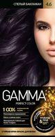 """Крем-краска для волос """"Gamma perfect color"""" (тон: 4.6, спелый баклажан)"""