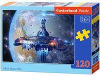 """Пазл """"Космический корабль"""" (120 элементов)"""