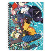 """Скетчбук """"Naruto"""" (А5; арт. 4434)"""