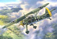 Германский самолет разведчик Hs 126А (масштаб: 1/48)