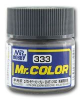 Краска Mr. Color (extra dark sea gray, C333)
