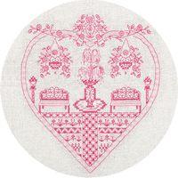 """Вышивка крестом """"Розовый сад"""" (220х230 мм)"""