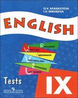 English 9. Tests