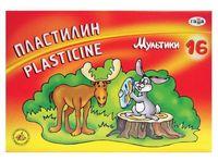 "Пластилин ""Мультики"" (16 цветов)"