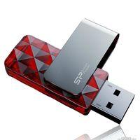 USB Flash Drive 8Gb Silicon Power Ultima U30 USB 2.0 (Red)