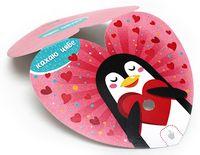 """Набор для изготовления электронной открытки """"Валентинка. Пингвин"""""""