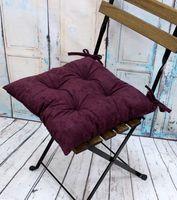 """Подушка на стул """"Velours"""" (42х42 см; сливовая)"""