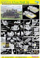 """Набор миниатюр """"Sd.Kfz.7/2 3.7cm FlaK 36"""" (масштаб: 1/35)"""
