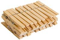 Набор прищепок деревянных (20 шт.; 45 мм)
