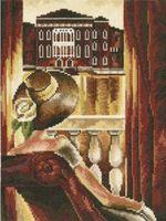"""Вышивка крестом """"'Комната с видом. Венеция"""""""