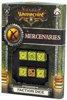 """Набор кубиков """"Warmachine Mercenaries Faction"""" (6 шт.; зеленый)"""