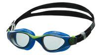 Очки для плавания (чёрно-голубые; арт. M702)