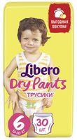 "Подгузники-трусики ""Libero. Dry Pants 6"" (13-20 кг; 30 шт.)"
