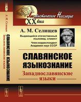 Славянское языкознание. Западнославянские языки