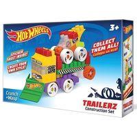 """Конструктор """"Hot wheels. Trailerz Crunch+Wasp Bauer"""" (36 деталей)"""