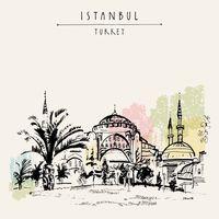 """Репродукция на холсте """"Стамбул. Турция"""""""