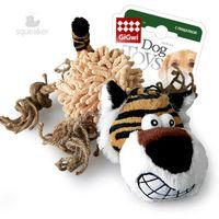 """Игрушка для собак с пищалкой """"Тигр"""" (36 см)"""
