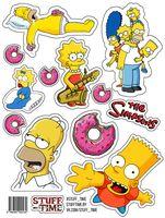 """Набор бумажных наклеек №23 """"Симпсоны"""" (арт. 0023)"""