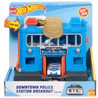 """Игровой набор """"Hot Wheels. Полицейский участок"""" (арт. FRH33)"""