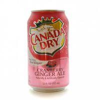 """Напиток газированный """"Canada Dry. Клюква"""" (355 мл)"""
