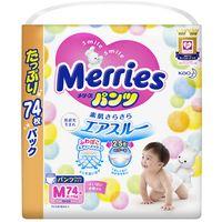 "Подгузники-трусики ""Merries M"" (6-11 кг; 74 шт.)"