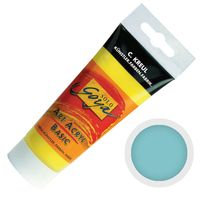 """Краска акриловая матовая """"Solo Goya Basic"""" 39 (100 мл; светло-бирюзовый)"""