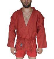 Куртка для самбо AX5 (р. 50; красная; без подкладки)