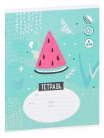 """Тетрадь в клетку """"Стиль. Trendy Art"""" (12 листов)"""