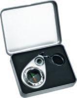 Брелок-компас с термометром