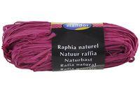 "Подарочная лента ""Natural Raffia"" (ярко-розовая)"