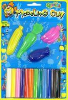 Набор для лепки из воскового пластилина (12 цветов; арт. 1010)