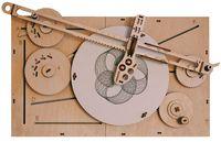 """Сборная деревянная модель """"Машина для рисования Unigraph"""""""