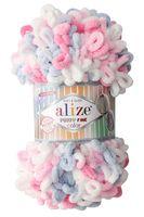 """Пряжа """"ALIZE. Puffy Fine Color №5945"""" (100 г; 14,5 м; секционный)"""