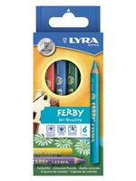 "Цветные карандаши ""FERBY"" (6 цветов)"