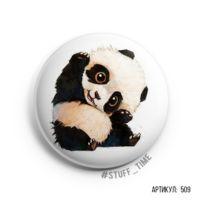 "Значок маленький ""Милая панда"" (арт. 509)"