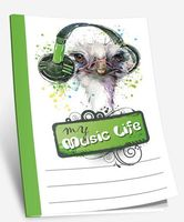 """Блокнот """"My music life"""" (А5)"""