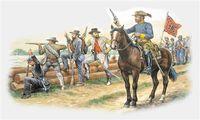 "Набор миниатюр ""Confederate Troops"" (масштаб: 1/72)"