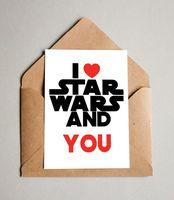 """Открытка """"Love Star Wars"""" (615)"""