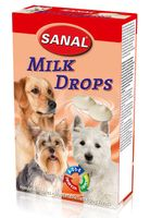 "Лакомство для собак ""Milk Drops"" (125 г)"
