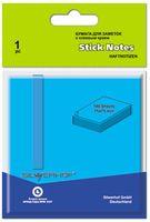 """Бумага для заметок """"Silwerhof"""" (75х75 мм; голубая)"""
