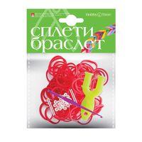 """Набор для плетения из резиночек """"Красный"""" (1000 шт.)"""