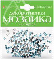 Мозаика декоративная из акрила №3 (4х4 мм; 200 шт.; голубой)