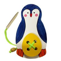 """Шнуровка """"Пингвин с яйцом"""""""