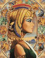 """Алмазная вышивка-мозаика """"Царица Египта"""" (380х480 мм)"""