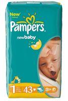 "Подгузники ""New Baby-dry New Born"" (2-5 кг; 43 шт.)"