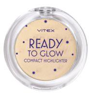 """Хайлайтер для лица """"Ready To Glow"""" тон: 203, golden glow"""