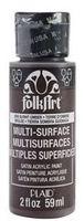 """Краска акриловая """"FolkArt Multi-Surface"""" (жженая умбра, 59 мл; арт. PLD-02909)"""